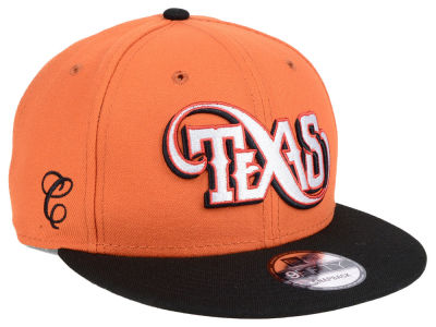 Texas Longhorns New Era NCAA Mister Cartoon 9FIFTY Snapback Cap