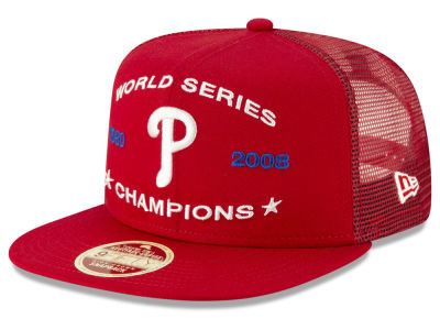 finest selection 12e67 1ff98 ... promo code for philadelphia phillies new era mlb team front trucker 9fifty  snapback cap 96282 cd973