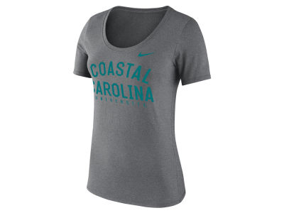 Coastal Carolina Chanticleers Nike NCAA Women's Core Cotton Scoop T-Shirt