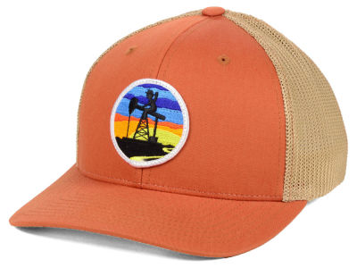 Oil Field Oil Night Sky Cap