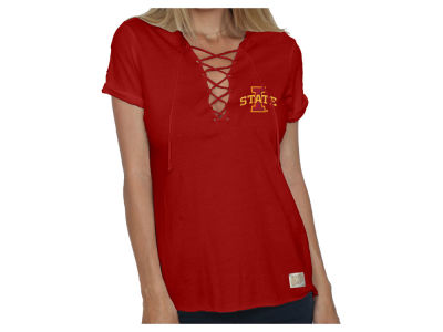 NCAA Women's Lace Up T-Shirt