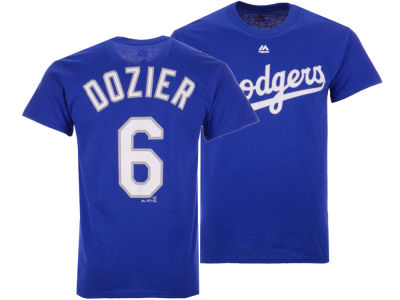 Los Angeles Dodgers Brian Dozier Majestic MLB Men's Official Player T-Shirt