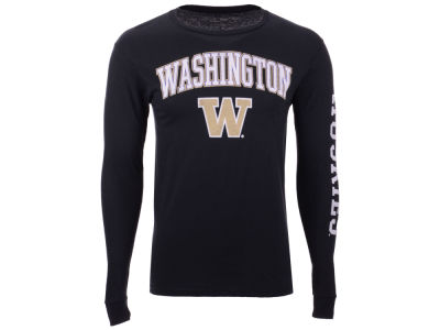 Washington Huskies The Victory NCAA Men's Midsize Slogan Long Sleeve T-Shirt