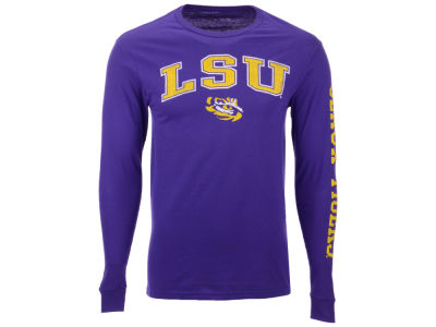 LSU Tigers The Victory NCAA Men's Midsize Slogan Long Sleeve T-Shirt