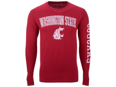 Washington State Cougars The Victory NCAA Men's Midsize Slogan Long Sleeve T-Shirt