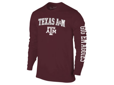 Texas A&M Aggies The Victory NCAA Men's Midsize Slogan Long Sleeve T-Shirt