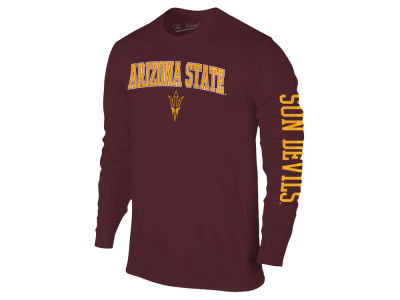 Arizona State Sun Devils The Victory NCAA Men's Midsize Slogan Long Sleeve T-Shirt