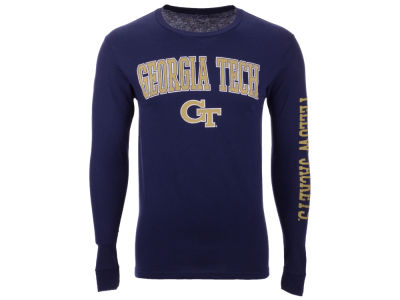Georgia Tech The Victory NCAA Men's Midsize Slogan Long Sleeve T-Shirt