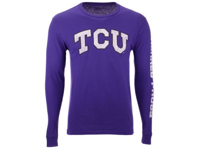 Texas Christian Horned Frogs The Victory NCAA Men's Midsize Slogan Long Sleeve T-Shirt