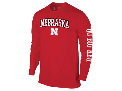 Nebraska Cornhuskers The Victory NCAA Men's Midsize Slogan Long Sleeve T-Shirt