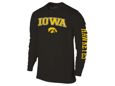Iowa Hawkeyes The Victory NCAA Men's Midsize Slogan Long Sleeve T-Shirt