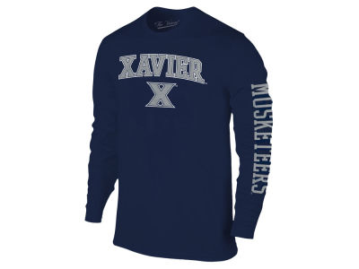 Xavier Musketeers The Victory NCAA Men's Midsize Slogan Long Sleeve T-Shirt