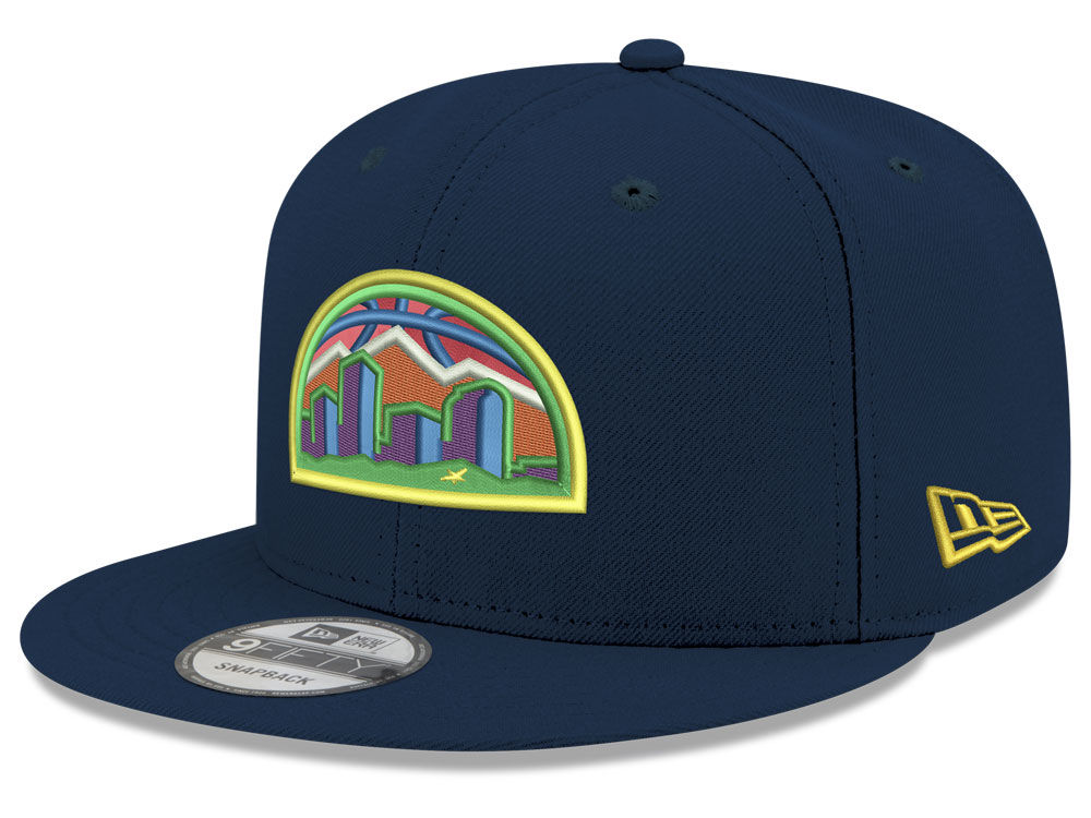 brand new c19e6 52447 ... italy denver nuggets new era nba youth city pop series 9fifty snapback  cap 77377 94512