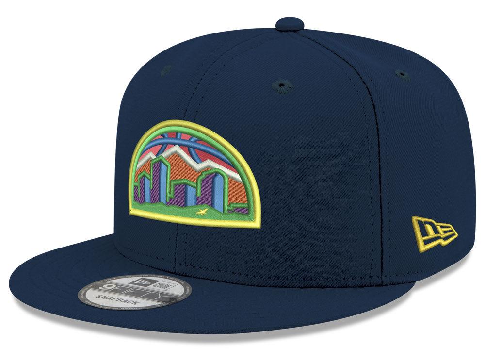 Denver Nuggets New Era NBA Youth City Pop Series 9FIFTY Snapback Cap ... 9d2491a71
