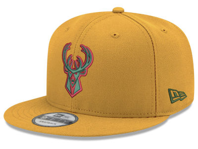 Milwaukee Bucks New Era NBA Youth City Pop Series 9FIFTY Snapback Cap