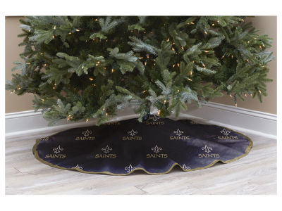 "New Orleans Saints Pegasus Sports 52"" NFL Christmas Tree Skirt"