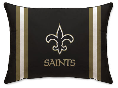 "New Orleans Saints Pegasus Sports 20"" x 26"" NFL Plush Bed Pillow"