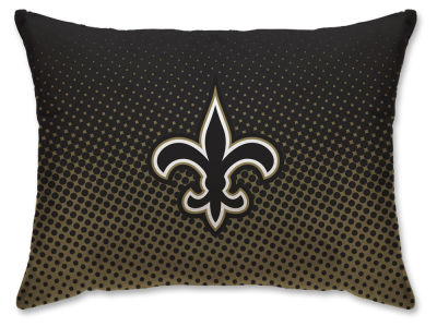"New Orleans Saints Pegasus Sports 20"" x 26"" NFL Plush Dot Design Bed Pillow"