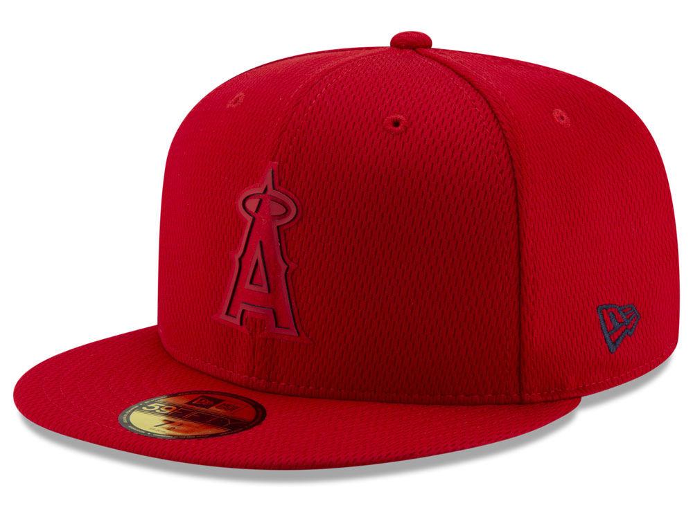 7174eab0c77 Los Angeles Angels New Era 2019 MLB Clubhouse 59FIFTY Cap
