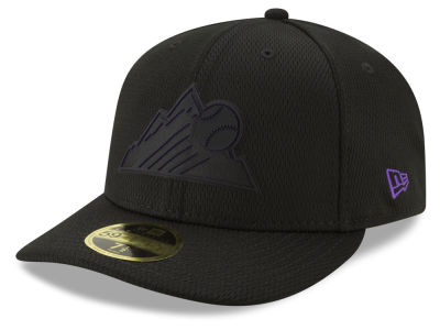 Colorado Rockies New Era 2019 MLB Clubhouse Low Profile 59FIFTY Cap