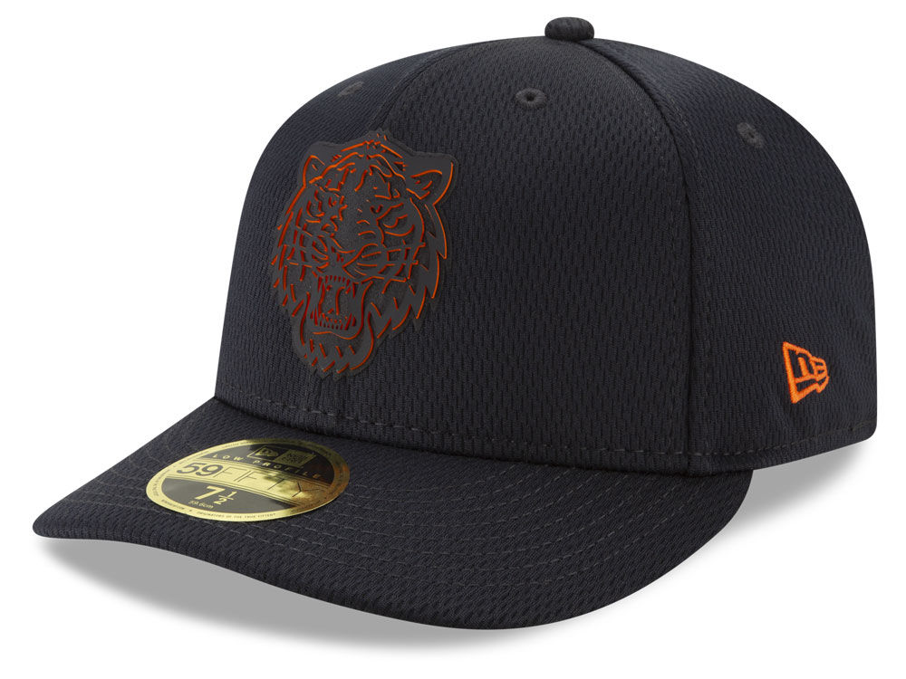 the sale of shoes great quality great prices Detroit Tigers New Era 2019 MLB Clubhouse Low Profile 59FIFTY Cap ...