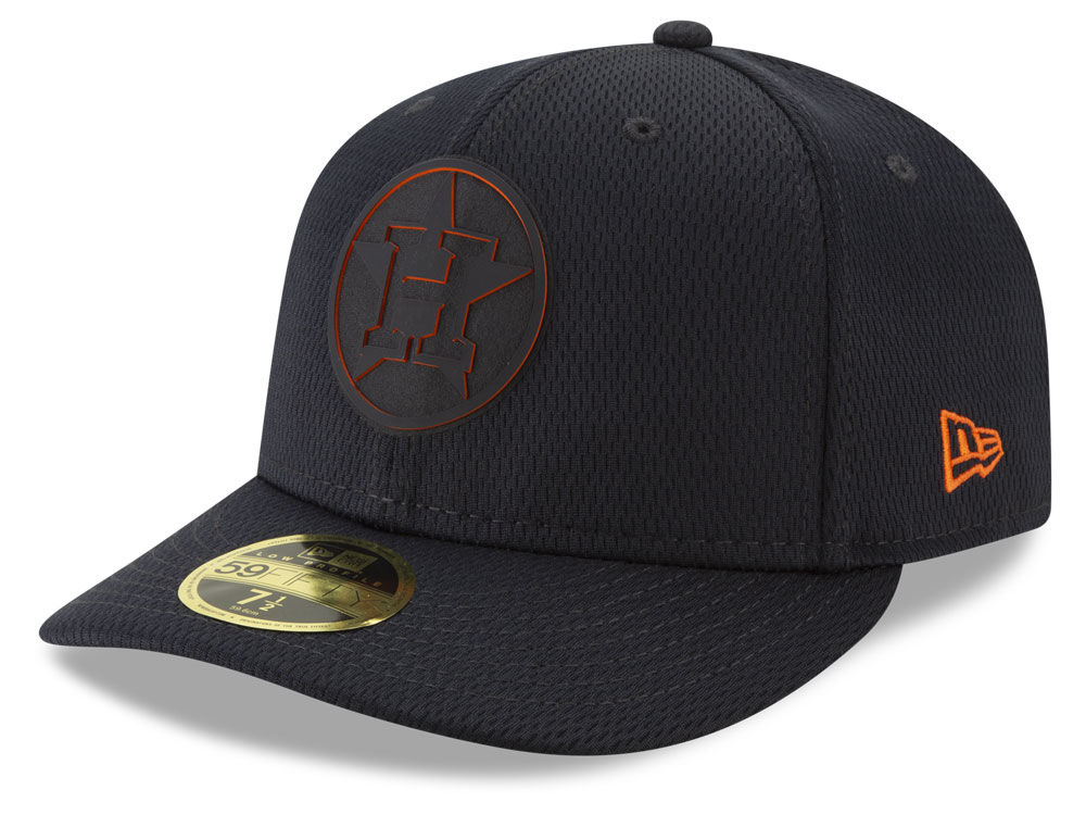 Houston Astros New Era 2019 MLB Clubhouse Low Profile 59FIFTY Cap ... 8993751297f6