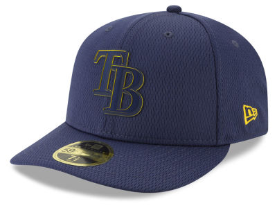 Tampa Bay Rays New Era 2019 MLB Clubhouse Low Profile 59FIFTY Cap