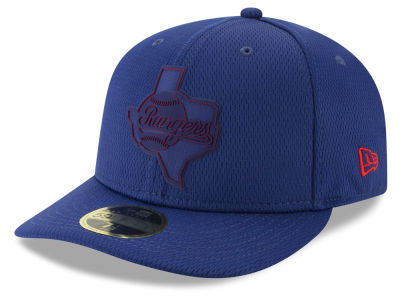 Texas Rangers New Era 2019 MLB Clubhouse Low Profile 59FIFTY Cap