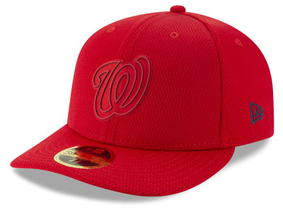 Washington Nationals New Era 2019 MLB Clubhouse Low Profile 59FIFTY Cap