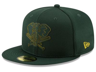 Oakland Athletics New Era 2019 MLB Kids Clubhouse 59FIFTY Cap 01b8c51c8038