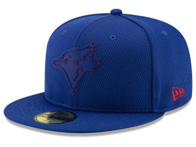 55cd8179b2b Toronto Blue Jays New Era 2019 MLB Kids Clubhouse 59FIFTY Cap