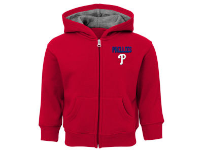 Philadelphia Phillies Outerstuff MLB Toddler Inside the Park Full Zip Hoodie