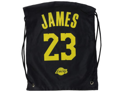 Los Angeles Lakers LeBron James Forever Collectibles Player Drawstring Bag