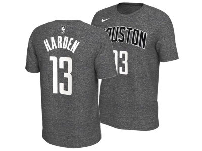 Houston Rockets James Harden Nike NBA Men's Marled Player T-Shirt