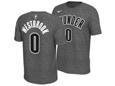 Oklahoma City Thunder Russell Westbrook Nike NBA Men's Marled Player T-Shirt