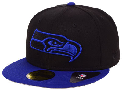 Seattle Seahawks New Era NFL Basic Fashion 59FIFTY Cap
