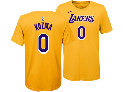 Los Angeles Lakers Kyle Kuzma Nike NBA Youth Icon Name and Number T-Shirt