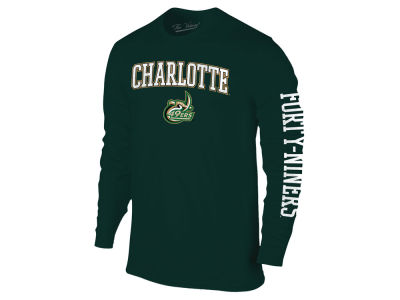 Charlotte 49ers NCAA Men's Midsize Slogan Long Sleeve T-Shirt