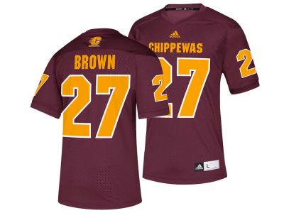 Central Michigan Chippewas Antonio Brown adidas NCAA Replica Football Jersey