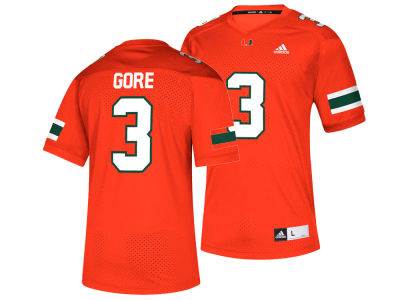 Miami Hurricanes Frank Gore adidas NCAA Replica Football Jersey
