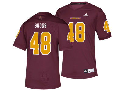 Arizona State Sun Devils Terrell Suggs adidas NCAA Replica Football Jersey