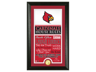 Louisville Cardinals Highland Mint NFL House Rules Supreme Bronze Coin Photo Mint