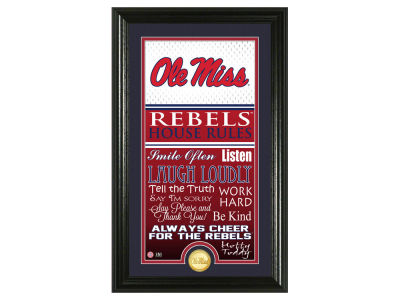 Ole Miss Rebels Highland Mint NFL House Rules Supreme Bronze Coin Photo Mint
