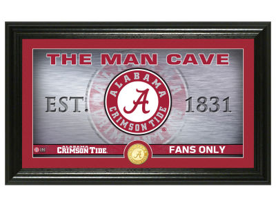 Alabama Crimson Tide Highland Mint Man Cave Bronze Coin Panoramic Photo Mint
