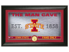 Iowa State Cyclones Highland Mint Man Cave Bronze Coin Panoramic Photo Mint Collectibles