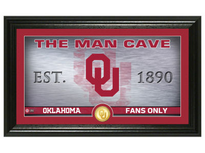 Oklahoma Sooners Highland Mint Man Cave Bronze Coin Panoramic Photo Mint