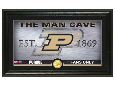 Purdue Boilermakers Highland Mint Man Cave Bronze Coin Panoramic Photo Mint