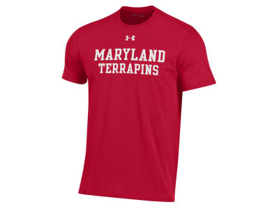 Maryland Terrapins Under Armour NCAA Men's Performance Cotton T-Shirt