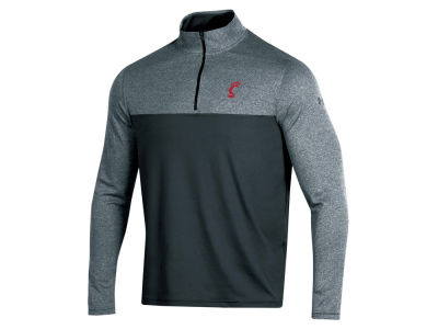 Cincinnati Bearcats Under Armour NCAA Men's Scratch Mock Quarter Zip Pullover