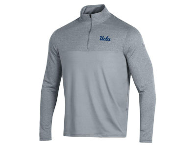 UCLA Bruins Under Armour NCAA Men's Scratch Mock Quarter Zip Pullover